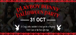 Playboy Bunny Halloween Party